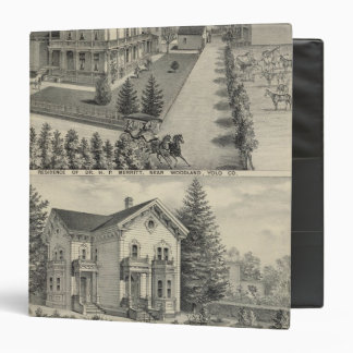 Woodland residences lithographed drawing vinyl binder