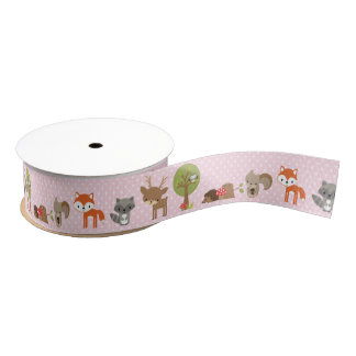 Woodland Ribbon pink