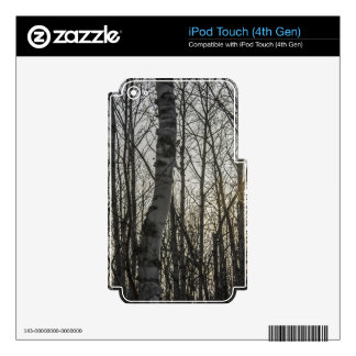 Woodland Decal For iPod Touch 4G