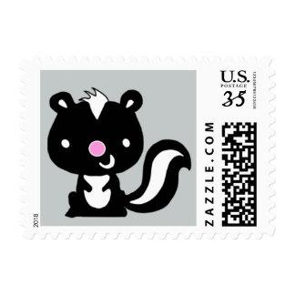 Woodland Skunk Stamp