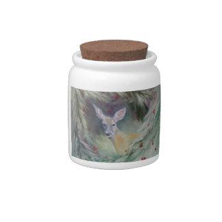 Woodland Spirit Candy Jar