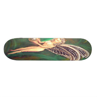 Woodland Sprite Holding the Future Skateboard Deck