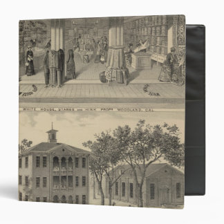 Woodland store, college vinyl binders