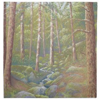 Woodland Stream, Peak District Cloth Napkins