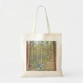 Woodland Stream, Peak District Derbyshire Tote Bag