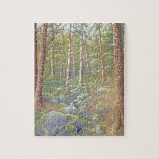 Woodland Stream, Peak District Jigsaw Puzzle