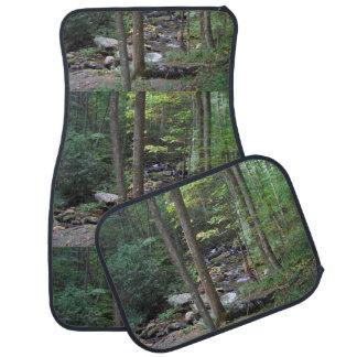 Woodland Stream Photography Car Mat