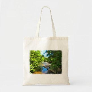 """""""Woodland Stream"""" Tote Bag"""