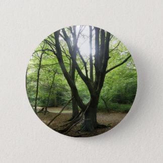 Woodland Sunshine Button