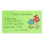 Woodland Toadstool Business Card Template