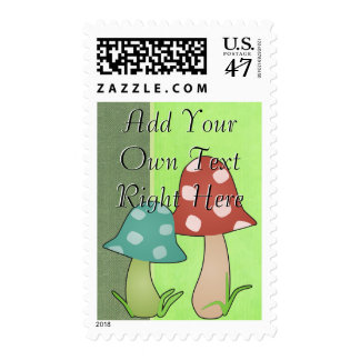 Woodland Toadstool Postage