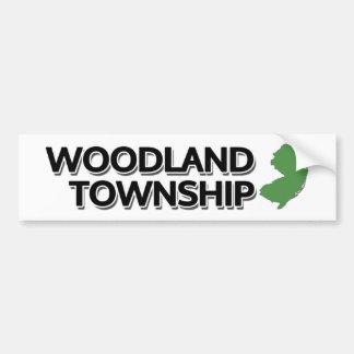 Woodland Township, New Jersey Bumper Sticker