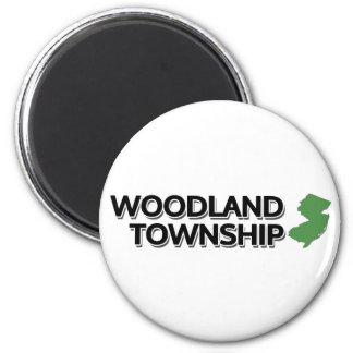 Woodland Township, New Jersey Magnet
