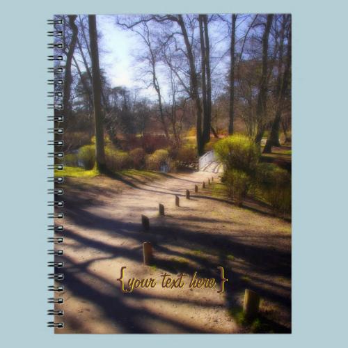 Woodland Trail And Bridge Notebooks