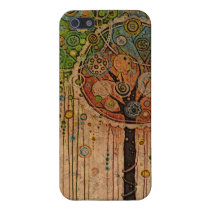 Woodland Tree Party Phone Case