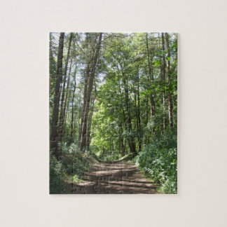 Woodland Trees Puzzle