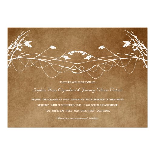 Nature Wedding Invitations is an amazing ideas you had to choose for invitation design