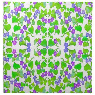 Woodland Violets Napkin