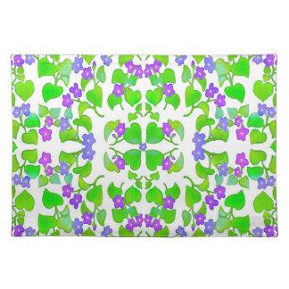 Woodland Violets Placemat