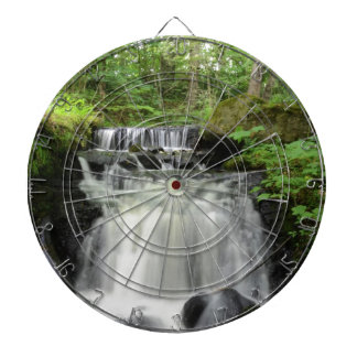 Woodland Waterfall Dart Board
