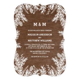 Woodland   Wedding Invitation 5