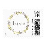 Woodland Wedding LOVE Stamp