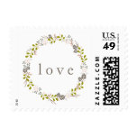 Woodland Wedding LOVE Stamp