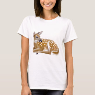 Woodland White Tailed Deer Fawn Babydoll Shirt