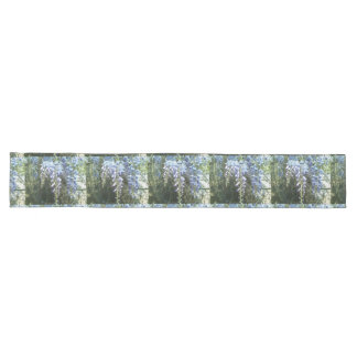 Woodland Wisteria Floral Nature Botanical Long Table Runner