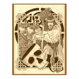Woodland Witch Postcard