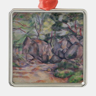 Woodland with Boulders, 1893 Metal Ornament