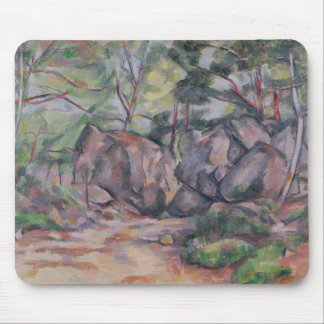 Woodland with Boulders, 1893 Mouse Pad