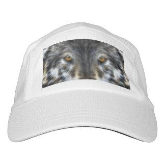 Woodland Wolf Inspirational Portrait Hat