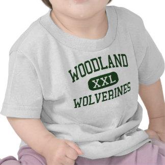 Woodland - Wolverines - High - Dorchester T Shirt