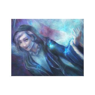 Woodland Woman Canvas Print