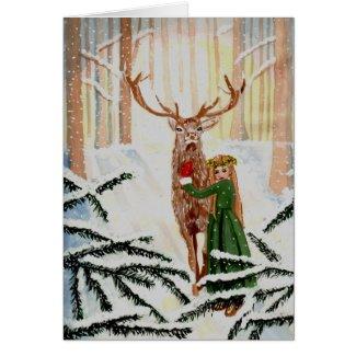 Woodland Wonder Spied Card