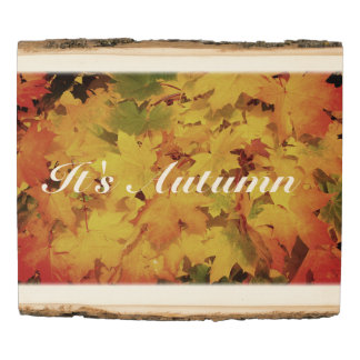 Woodland Wood -Autumn Escapes Wood Panel