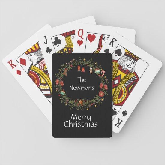 Woodland Wreath Christmas Cards