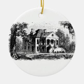 woodlands2 ceramic ornament