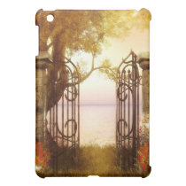 Woodlands Butterflies at the Gate iPad Mini Cover