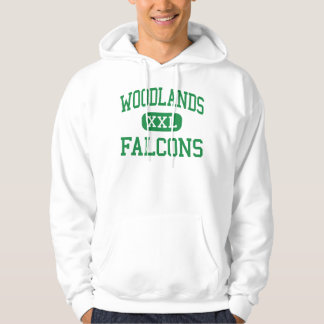Woodlands - Falcons - High - Hartsdale New York Hoodie