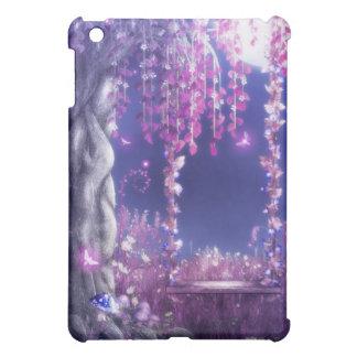 Woodlands Swing Blue Purple iPad Mini Cover