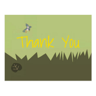 Woodlands Thank You Postcard