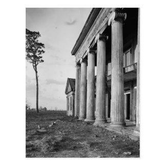 Woodlawn Plantation, Assumption LA Postcard