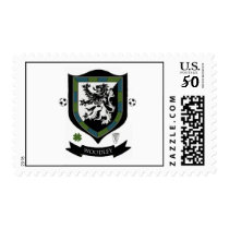 Woodley Family Crest Postage