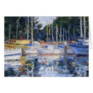 Woodley Island Marina Card