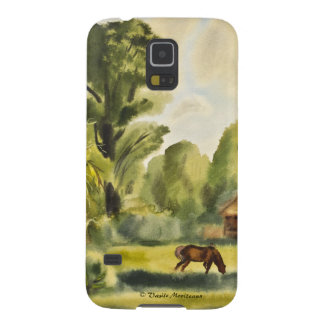 Woodman's House watercolor painting Galaxy S5 Cover