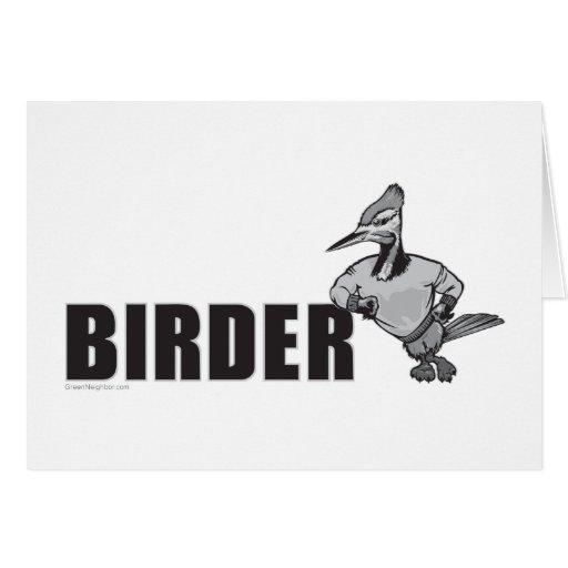 Woodpecker Bird Watching Cards