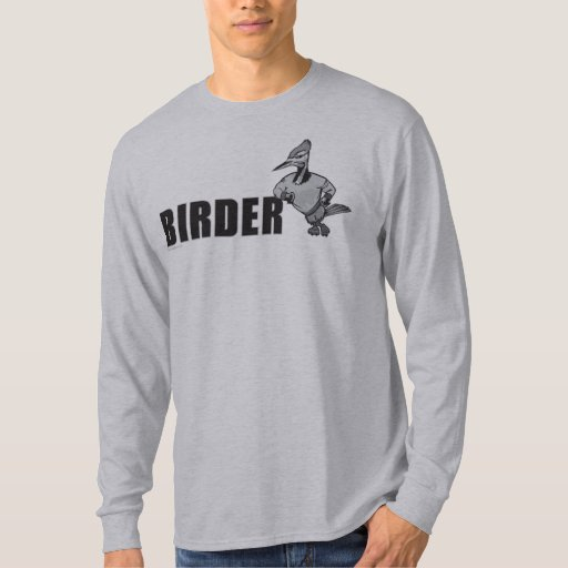 Woodpecker Bird Watching T Shirt