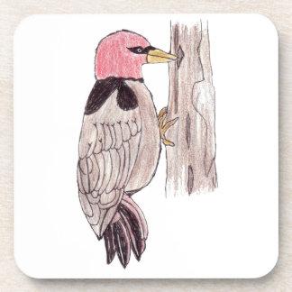Woodpecker Coasters